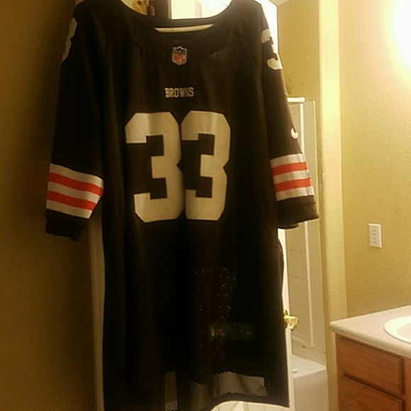 the best attitude 951ae 88bc9 Cleveland Browns Football Jersey number 33