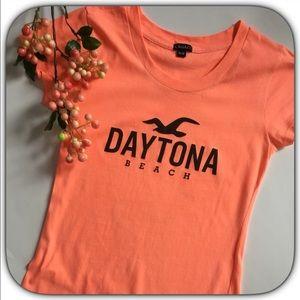 Boutique Tops - New Listing! NWOT Brilliant Orange Coral T-Shirt