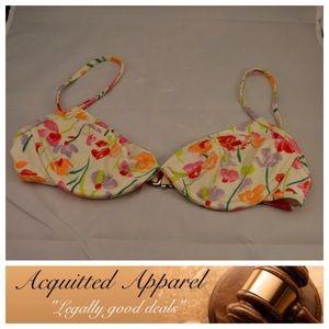 Oscar de la Renta Other - Oscar De La Renta Floral Bikini Top