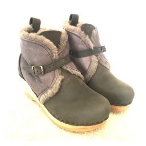 No. 6 Winter Clog Booties