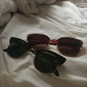 Two Pairs of UO Sunglasses