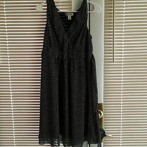 Motherhood Maternity Dress Size L Black