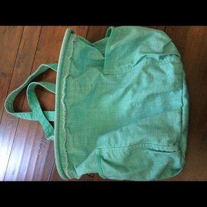 Thirty-One Teal Retro Metro Shoulder Bag