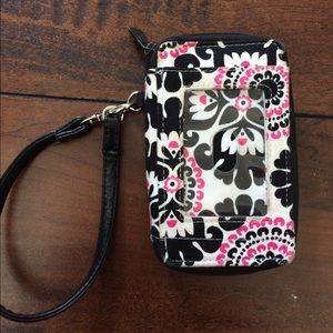 Thirty-One Zippered Wallet Wristlet