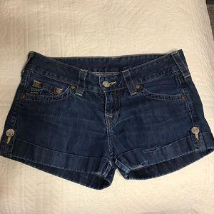 True Religion Pants - True Religion Jean Short Sz 29