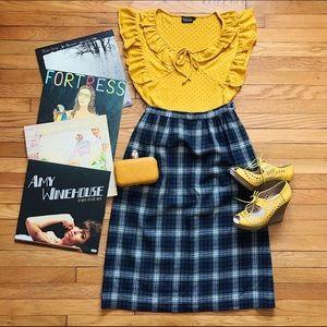 Pendleton Dresses & Skirts - 🎶 Vintage Vixen Tartan Midi Skirt