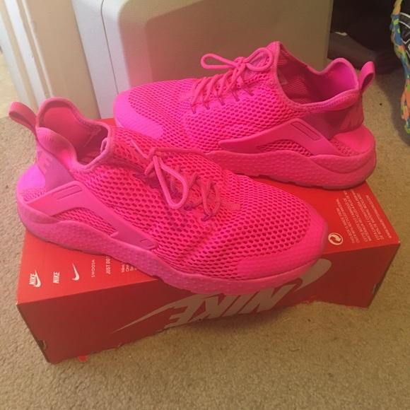 Nike Hot Pink W Air Huarache Run Ultra