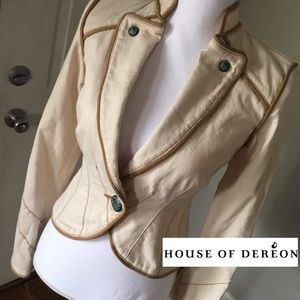 Dereon Jackets & Blazers - 🎉SALE🎉 Dereon Size XS Canvas Piped Jacket NWOT