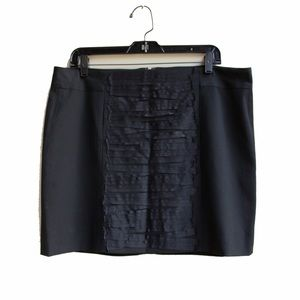 NWT Gap's Funky Textured Black Skirt