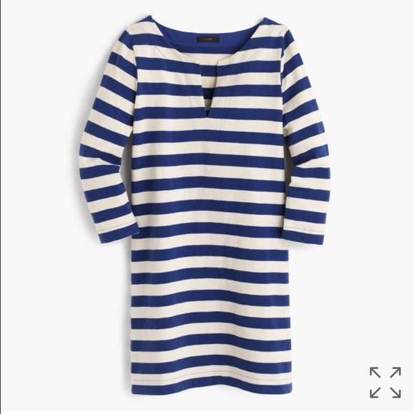 J. Crew Dresses & Skirts - J. Crew Striped Tunic