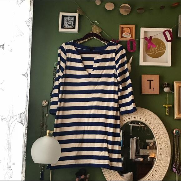 J. Crew Dresses - J. Crew Striped Tunic