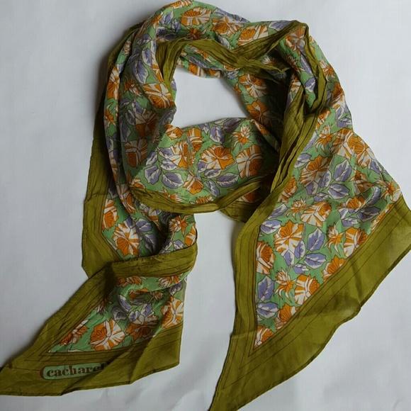 53872a3b7c cacharel Accessories | Beautiful Vintage Silk Scarf | Poshmark
