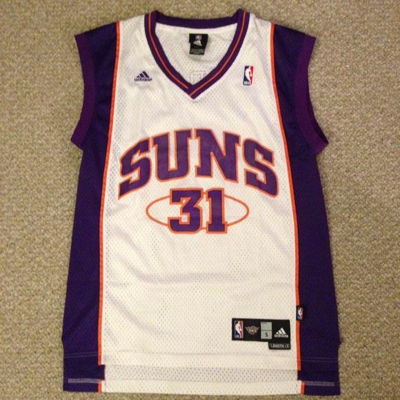 df48ce51d3d Adidas Shirts | Vintage Phoenix Suns Shawn Marion Swingman Jersey ...