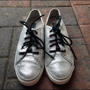 Sperry Shoes - Silver Sperry Sneakers
