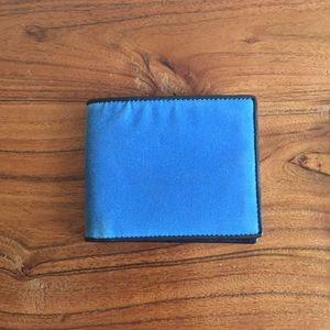 Jack Spade Other - Jack Spade Waxwear Blue Wallet