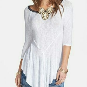Free People Weekends Layering Tee