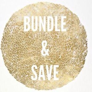 Other - Bundle 3 items and receive 10% off!!