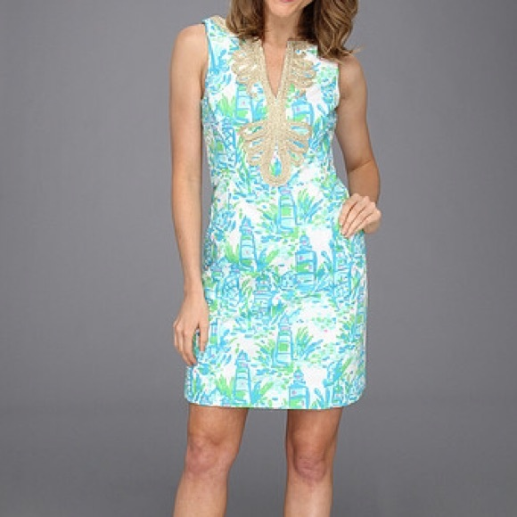 Lilly Pulitzer Dresses - Lilly Pulitzer Janice Shift in High Beams