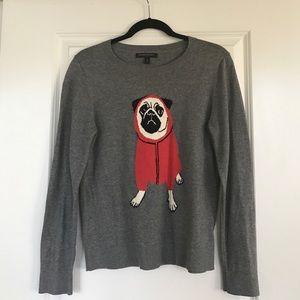 Banana Republic pug sweater