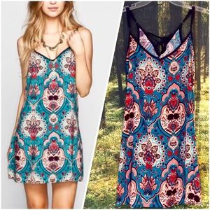 Tilly's Dresses & Skirts - Bohemian Slip Dress