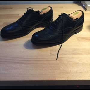 Grenson Other - Black wingtip brogues made in england goodyearwelt