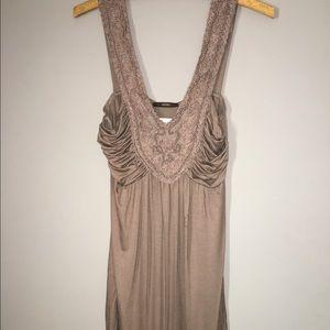 Dresses & Skirts - Wet Cement colored KNIT DRESS NWT Sz Medium