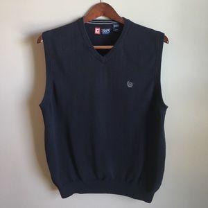 Chaps Other - 💰$5 SALE❗️Chaps Navy Sweater Vest
