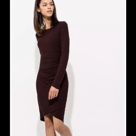 8f79955a8 Kit and Ace Dresses   Meadow Dress Midi Wine Cashmere   Poshmark