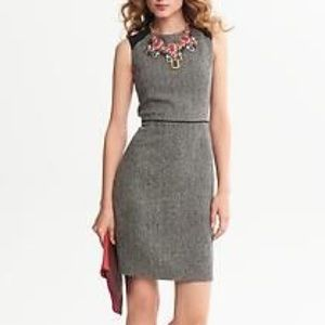 Banana Republic Dresses & Skirts - Banana Republic NWT Tweed Sheath Dress