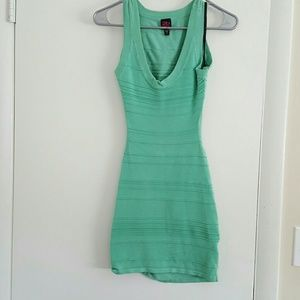 Bebe mini cut out dress