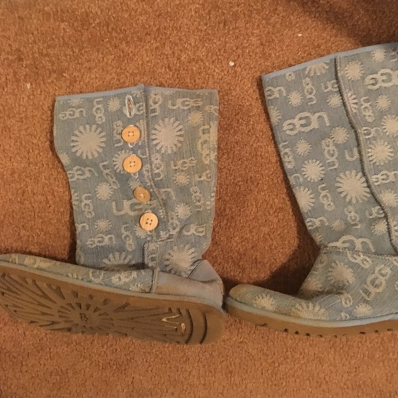 Blue limited edition jean UGGS