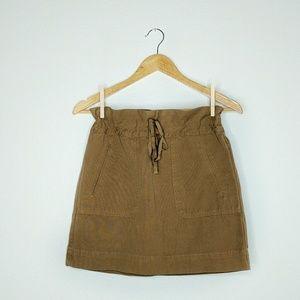 J. Crew Dresses & Skirts - NEW J.Crew  Military Canvas Skirt