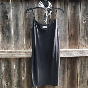 Equipment Dresses & Skirts - Equipment Prue Silk Black Mini Dress