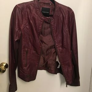 Maurice's Faux leather jacket Size M