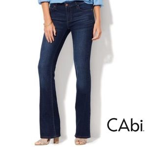 SALE Cabi Size 8 Galaxy Boot Cut Jeans NWOT