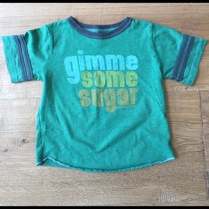 Rowdy Sprout Other - Boys 18-24M 'gimme some sugar' Rowdy Sprout t-shir