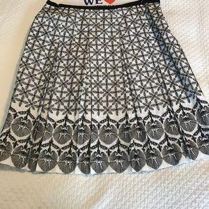 T Tahari Dresses & Skirts - T Tahari embroidered skirt.
