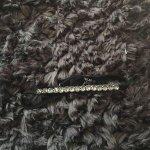 H&M gray rhinestone choker from Chicago NWOT