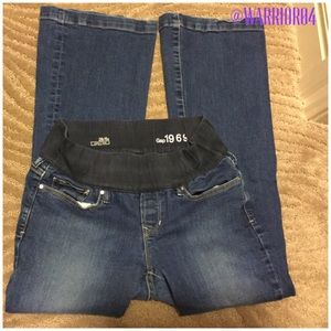 GAP Denim - Gap 1969 Long and Lean Blue Jeans Maternity