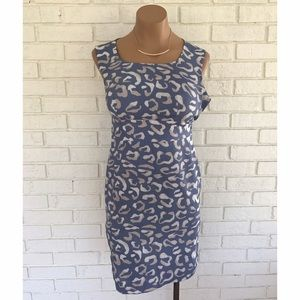 Ann Taylor Dresses & Skirts - ⚡️SALE⚡️Blue and beige printed work dress
