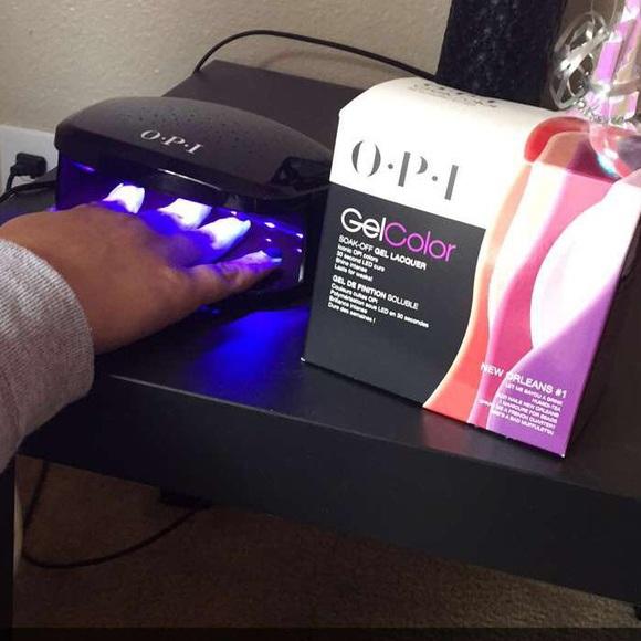 Accessories | Opi Gel Nail Kit Colors With Uv Led Light | Poshmark