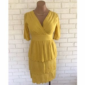 ANTONIO MELANI Dresses & Skirts - ⚡️SALE⚡️Yellow Antonio Melani dress