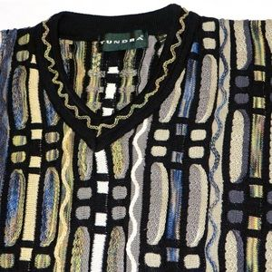 Tundra Other - Tundra Canada Mercerized Cotton V-Neck Sweater