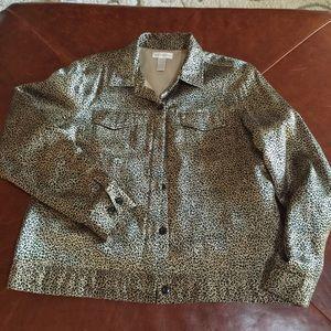 Worthington Jackets & Blazers - Worthington leopard print jacket
