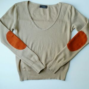 joseph  Sweaters - JOSEPH elbow patch wool sweater M medium