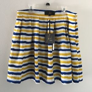 BB Dakota Dresses & Skirts - NWT Jack by BBDakota striped skater skirt, 8