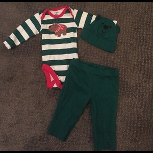Baby boy long sleeve outfit