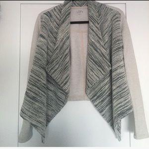 LOFT Sweaters - Ann Taylor LOFT Grey Cardigan XS