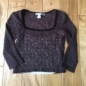 Necessary Objects Tops - New Lace Crop Top in Juniors S