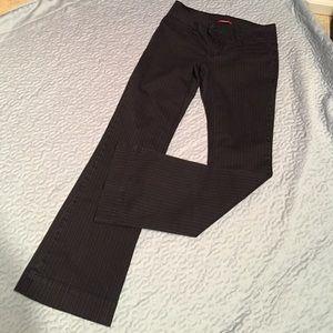 UNIONBAY Pants - Unionbay black with white stripes size 5